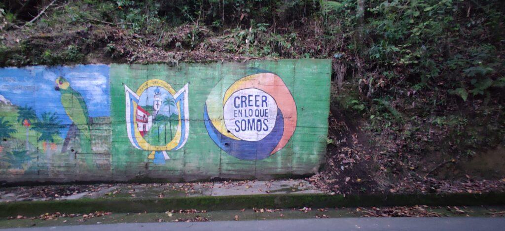 Salento Colombia Graffiti